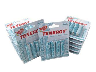 12 Cards: 4Pcs Tenergy AA Size Hawaiian Version Alkaline Batteries