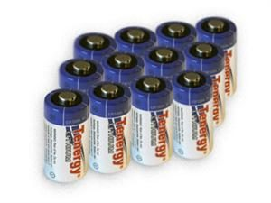 12 Pcs Tenergy Propel CR123A Lithium Battery with PTC Protected