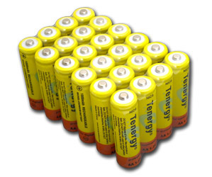 24 Tenergy AA NiCd Rechargeable Battery for Solar/Garden Lights