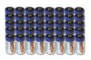 40 Pcs Tenergy Propel CR123A Lithium Battery with PTC Protected