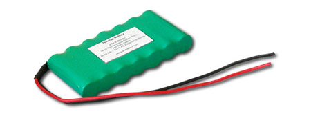 AT: Tenergy 8.4V 2000mAh Side by Side NiMH Battery Pack w/ Bare Leads