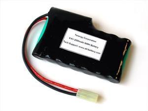 AT: Tenergy 9.6V 2000mAh Flat NiMH Airsoft Battery Pack