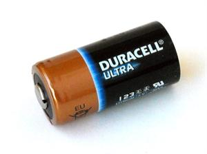 Duracell Ultra DL123A Lithium CR123A 3V Lithium Battery