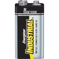 Energizer Industrial 9V Size (EN22) Alkaline Battery