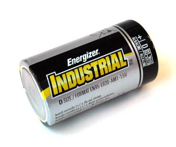 Energizer Industrial D Size (EN95) Alkaline Battery