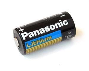 Panasonic Lithium CR123A 3V Lithium Battery
