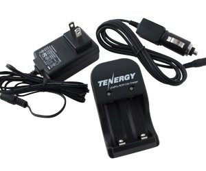 Smart Charger for RCR123A 3.0V 750mAh Lithium Ion Phosphate (LiFePO4) Rechargeable Batteries