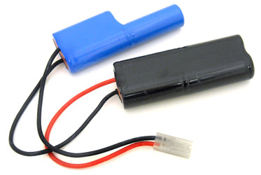 Tenergy 8.4V 2000mAh Nunchuck NiMH Airsoft Battery Packs