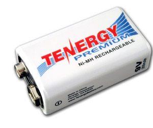 Tenergy Premium 9V 200mAh NiMH Rechargeable Battery