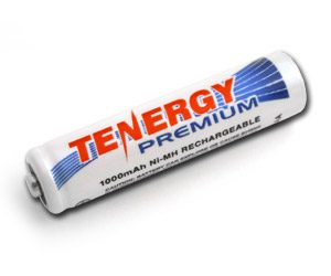 Tenergy Premium AAA 1000mAh NiMH Rechargeable Battery