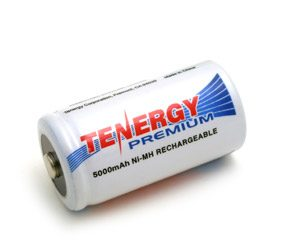 Tenergy Premium C 5000mAh NiMH Rechargeable Battery