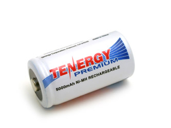 Tenergy Premium C 5000mAh NiMH Rechargeable Battery