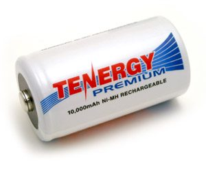 Tenergy Premium D 10000mAh NiMH Rechargeable Battery