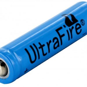 -10440-500-BLUE, 500mAh 3.6V Unprotected Lithium Ion Button Top Battery