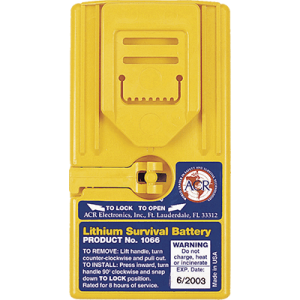-1066 Survival Lithium Battery for VHF Radio