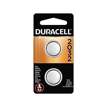 Duracell 2032 3V Lithium Battery, 2 Pack (DL2032B2PK)