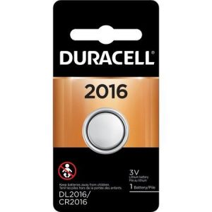 Duracell Coin Cell Lithium 3V Battery - DL2016