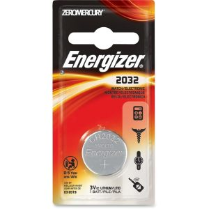 Energizer Coin Lithium 2032 Battery (Energizer Ecr2032bp Watch & Calculator Battery (3v))