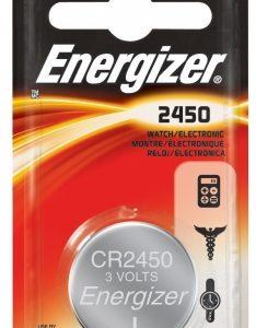 - Eveready 1 Pack 3 Volt 2450 Lithium Battery ECR2450BP