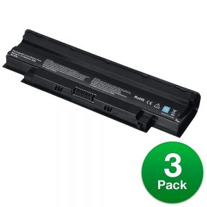 Replacement For Dell 04YRJH Laptop Battery (4400mAh, 11.1v, Lithium Ion) - 3 Pack