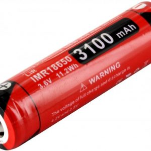 -18GT-IMR31 3100mAh 3.6V Protected High-Drain 12A Lithium Manganese Button Top Battery