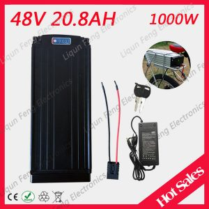 Ebike lithium battery 48v 20ah lithium bicycle 48v 20ah electric cooter battery for kit electric bike 1000w with bm charger