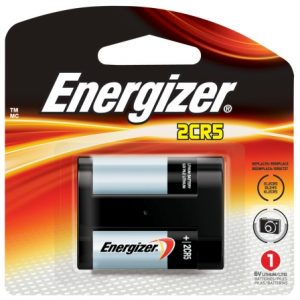 - Eveready 6 Volt Lithium Photo Batteries EL2CR5BP