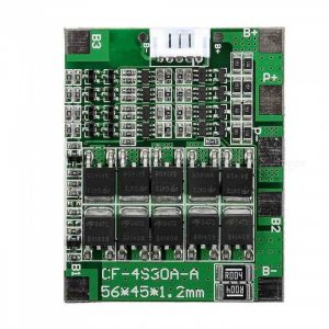 ZHAOYAO 4S 30A 14.8V Li-ion Lithium 18650 Battery BMS Pack PCB Protection Board Balance Integrated Circuit