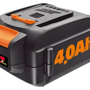 Worx MaxLithium Battery - For Trimmer/Edger - Battery Rechargeable - 20 V DC - 4000 mAh - Lithium Ion (Li-Ion) - 1