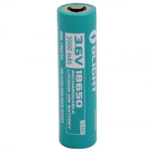 -18650-3000MAH 3000mAh 3.6V Protected Lithium Ion Button Top Battery for the H2R