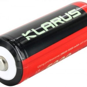 -26650 5000mAh 3.7V Protected Lithium Ion Button Top Battery