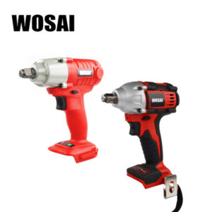 wosai 20v electric wrench lithium battery max torque 280n.m 320n.m cordless electrical impact wrench cordless drill
