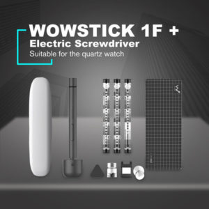wowstick 1f+ mini electric screwdriver rechargeable cordless power screw driver kit with led light lithium battery
