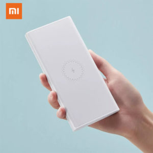 xiaomi lithium polymer battery 3.7v 10000mah power bank wireless youth portable charger power bank 18w external battery charger